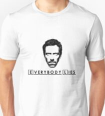 House - Everybody Lies Unisex T-Shirt