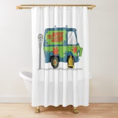 Scooby doo mystery machine Shower Curtain