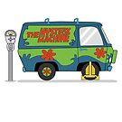 Scooby doo Mystery Machine von Creative Spectator