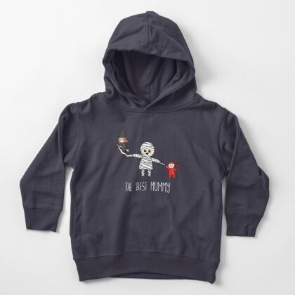 Halloween Family - The Best Mummy  Toddler Pullover Hoodie