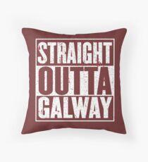 Geradeaus Galway Dekokissen