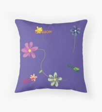 Blossoms in Bloom Throw Pillow