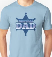 Marshal DAD! on a sherif star T-Shirt