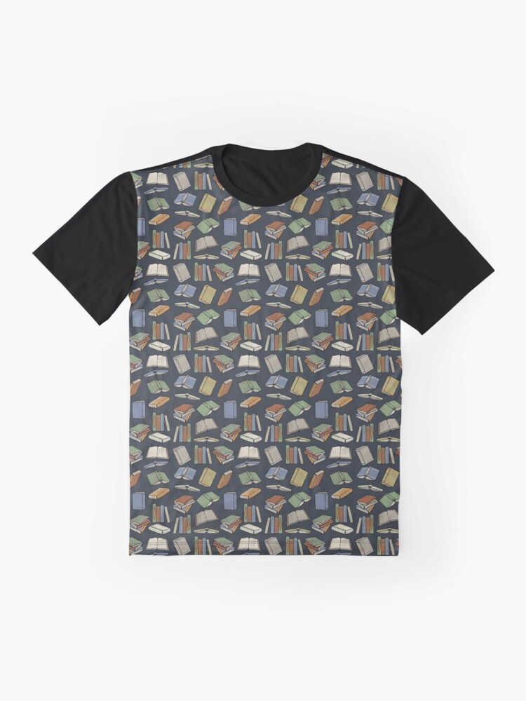 Alternate view of Old vintage book pattern Graphic T-Shirt