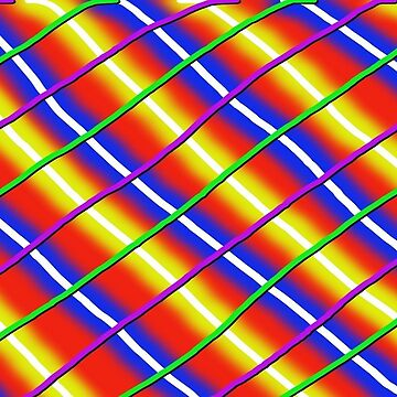 Neon Plaid by CleanSlate