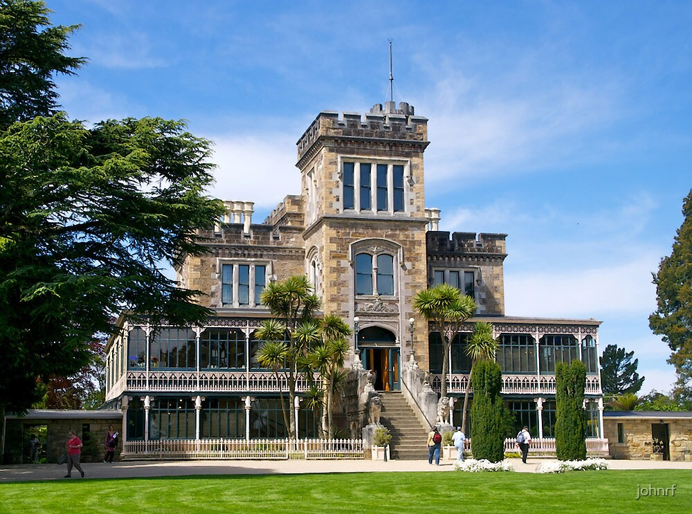 Lanarch Castle, Otago Peninsula, Dunedin, NZ. by johnrf
