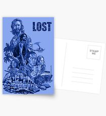 LOST 4 Postcards