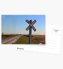 Railway Crossing Postcards
