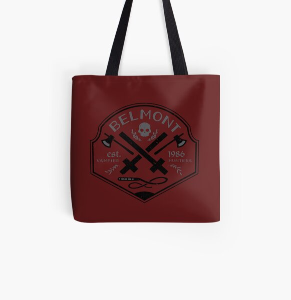Belmont Vampire Hunters // Castlevania All Over Print Tote Bag