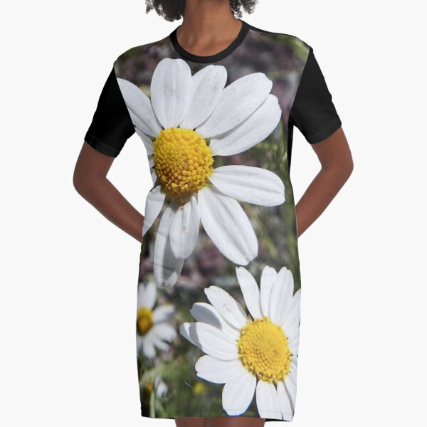 Mayweed wildflower Graphic T-Shirt Dress