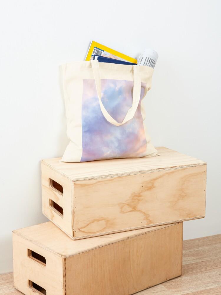Alternate view of Pink sky Tote Bag