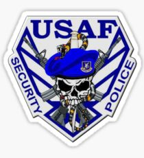 USAF Security Police Sticker