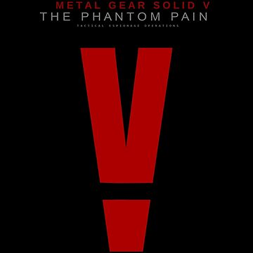 Metal Gear Solid V: The Phantom Pain logo by tylafoutz