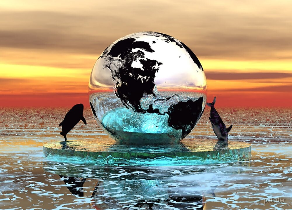 All Around the Globe by plunder