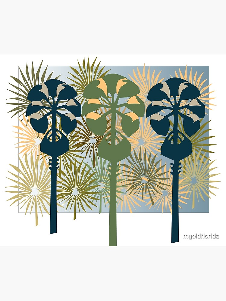 Three Mod Palms by myoldflorida