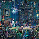 Howls room in Moving Castle by illustore