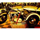 Harley Davidson  Vintage by Paul Lindenberg
