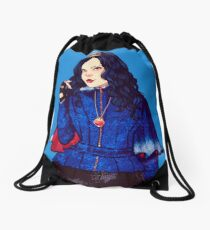 Evie, the evil queen daughter Drawstring Bag