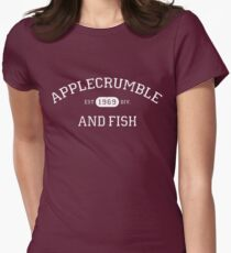 Applecrumble and Fish Women's Fitted T-Shirt