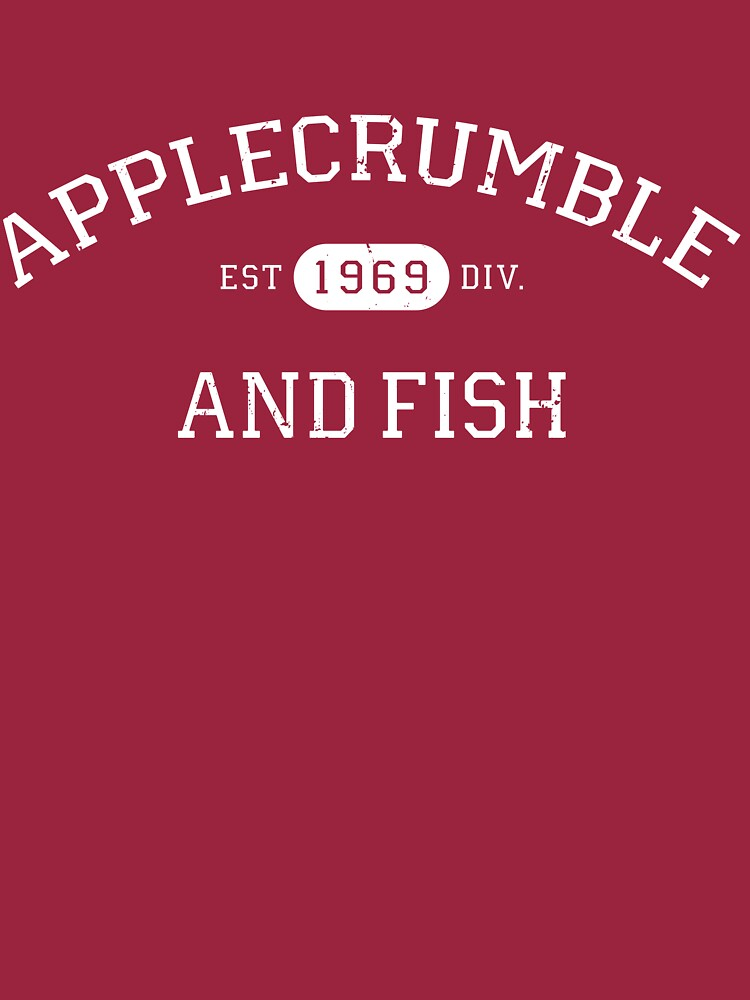 Applecrumble and Fish by kpizzle