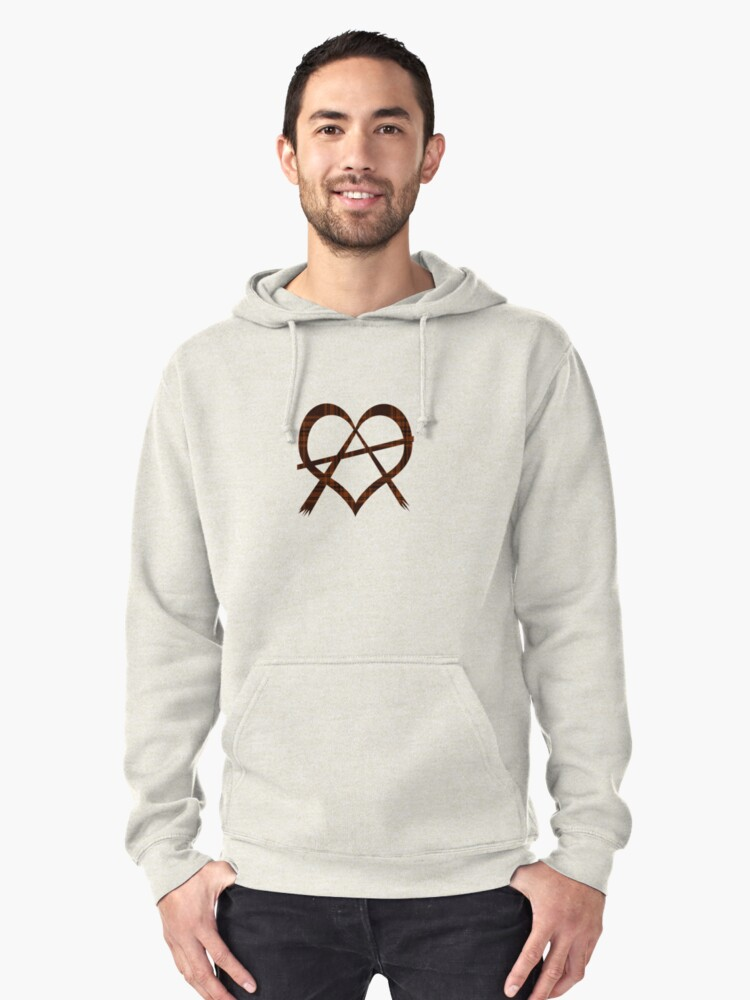 Anarchy Heart Symbol T-Shirt by simpsonvisuals