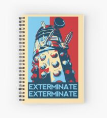 EXTERMINATE Hope Spiral Notebook
