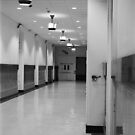 Hallway - City Hall - Philadelphia by nickchic