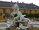 A Fountain at Schönbrunn Palace by Lee d'Entremont