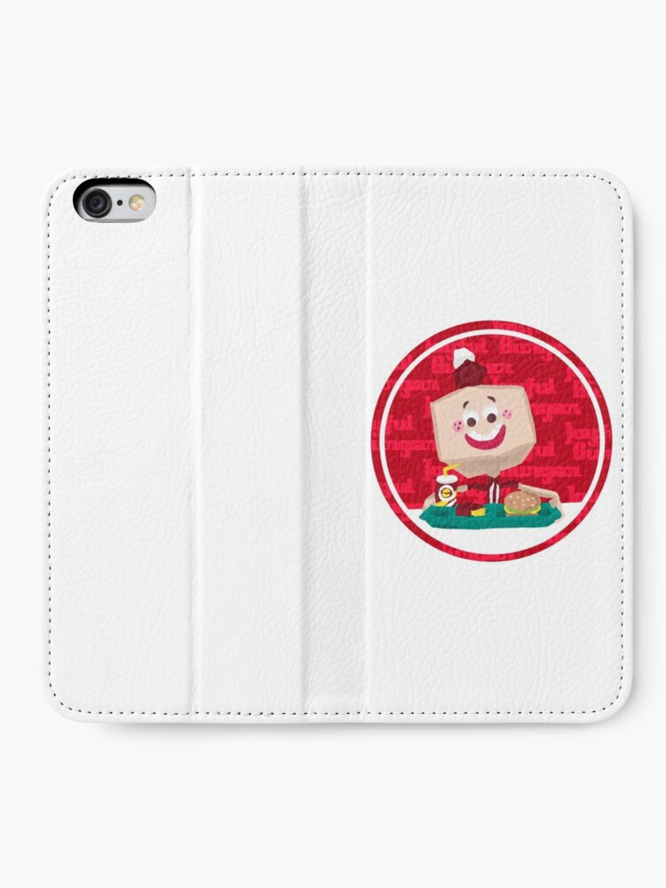 Alternate view of Larry the Joyful Burger Worker - The Amazing World of Gumball iPhone Wallet