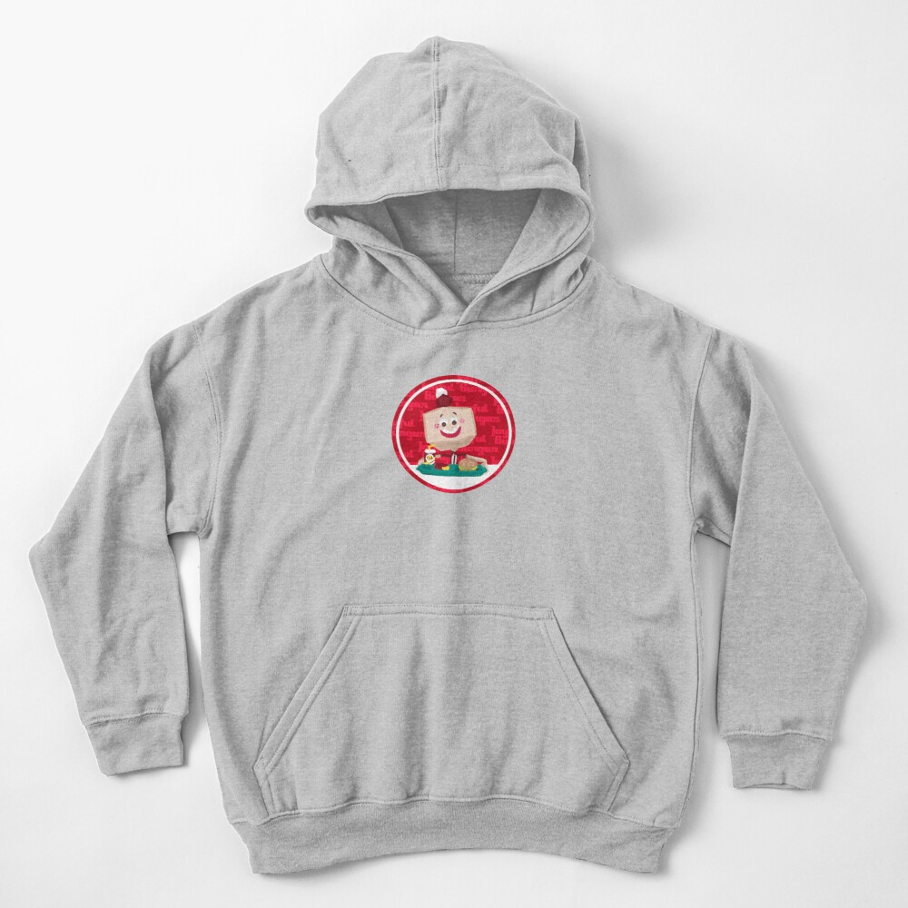 Larry the Joyful Burger Worker - The Amazing World of Gumball Kids Pullover Hoodie