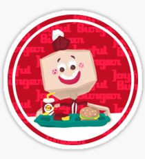 Larry the Joyful Burger Worker - The Amazing World of Gumball Sticker