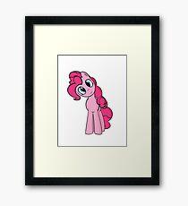 Pinkie Pie Framed Print