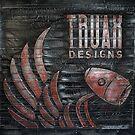 Truax Designs Karbon Kast Logo by truaxdesigns