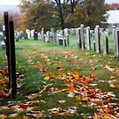 Autumn Cemetery by KerrieLynnPhoto