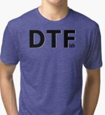 DTFish - Fishing T-shirt Tri-blend T-Shirt
