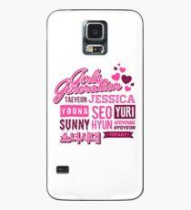 SNSD Girls Generation Collage Hülle & Klebefolie für Samsung Galaxy