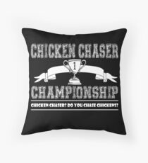 Fable - Chicken Chaser Championship Throw Pillow
