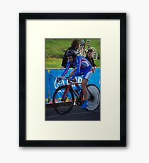 Elite Womens Time Trial Framed Print