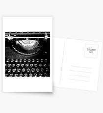 A Typewriter Named Old Ironsides (lifeanalog.com) Postcards