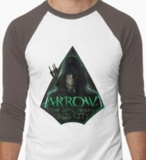 Arrow, You have failed this city Men's Baseball ¾ T-Shirt