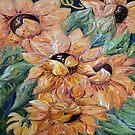 Sunflower Blitz by EloiseArt