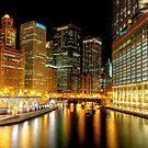Chicago River by Steve Ivanov