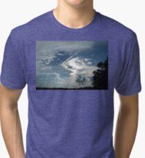 Weird and Wacky Clouds Tri-blend T-Shirt