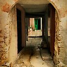 Behind the green door by Þórdis B.