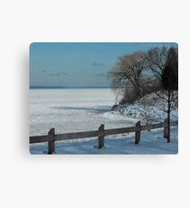 Winter on Lake Ontario Canvas Print