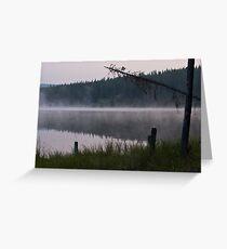 Dead Trees at Goldeye Lake Greeting Card