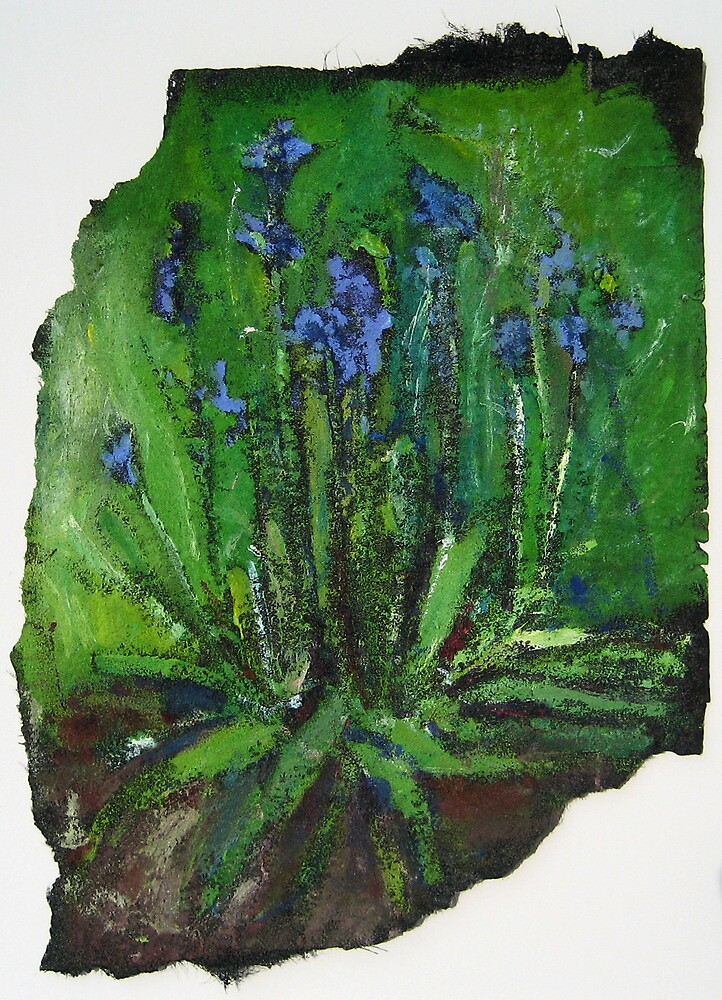 Blue Bells by Marcie Wolf-Hubbard