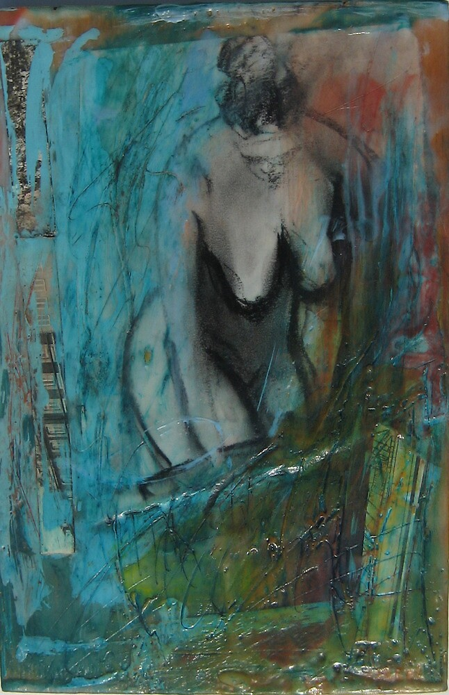 Woman standing by Marcie Wolf-Hubbard
