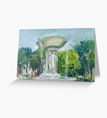 Fountain at Dupont Circle Greeting Card