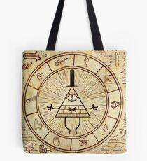 Gravity Falls, Bill Cipher Tote Bag